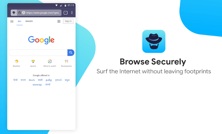 Browser securely