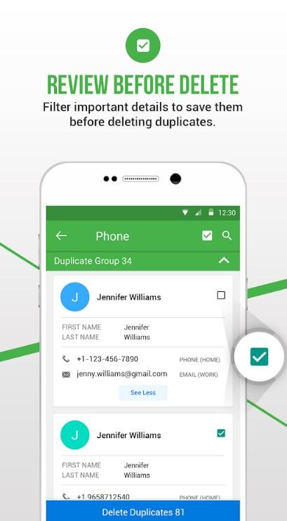 Duplicate Contact Fixer