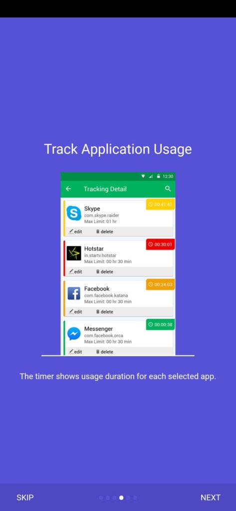 Track App Usage